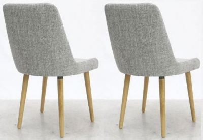 Shankar Capri Dining Chair - Grey Weave (Pair)