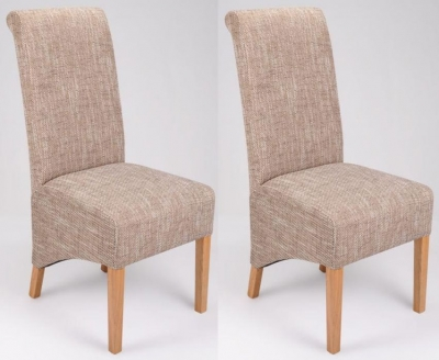 Shankar Krista Dining Chair - Tweed (Pair)