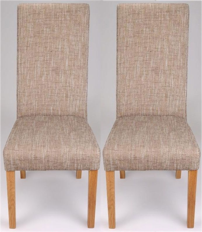 Shankar Baxter Tweed Dining Chair (Pair)