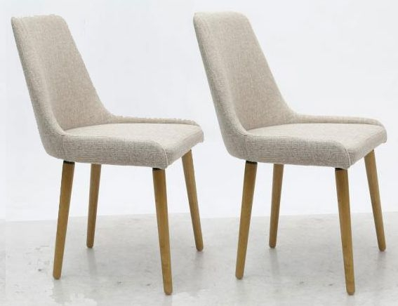 Shankar Capri Dining Chair - Natural (Pair)