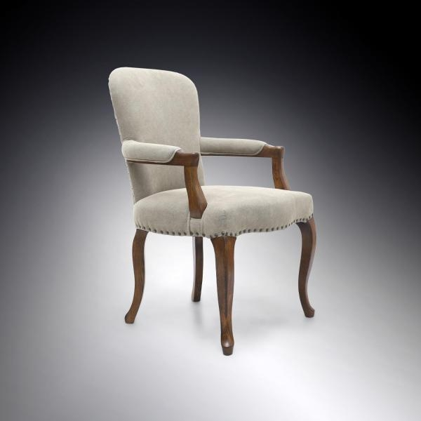 Shankar Sterling Chair - Natural Carver