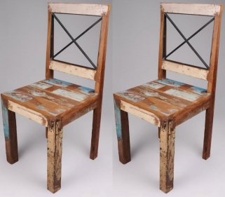 New England Reclaimed Chair (Pair)