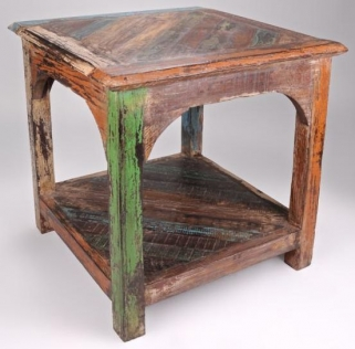 Shankar New England Reclaimed End Table