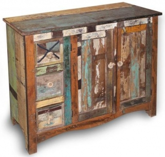 New England Reclaimed Sideboard - Medium