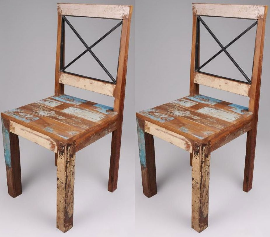 Shankar New England Reclaimed Chair (Pair)
