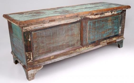 Shankar New England Reclaimed Storage Box
