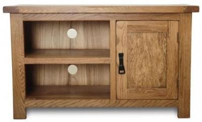 Shankar Oakly Rustic Oak TV Unit - 1 Door