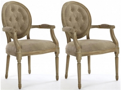 Shankar Louis Grande Carver Chair (Pair)