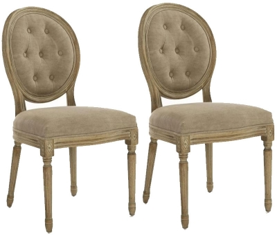 Shankar Louis Grande Dining Chair (Pair)