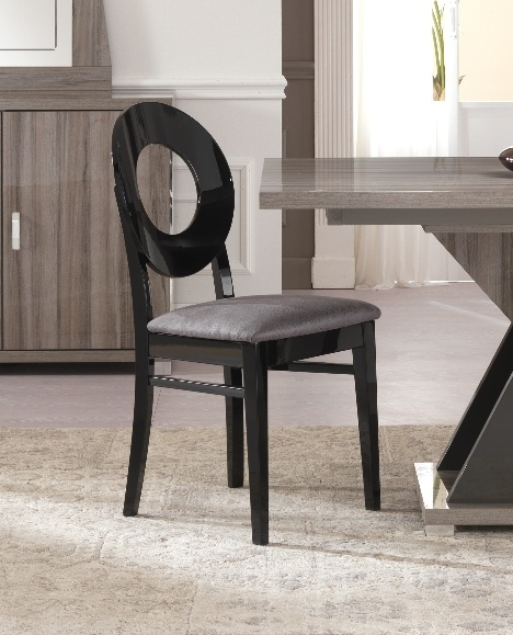 Bagni Oval Wooden Italian Dining Chair (Pair)