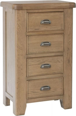 Hatton Oak 4 Drawer Chest