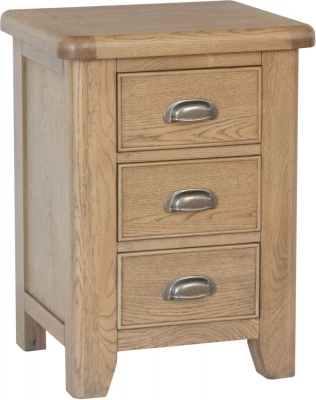 Hatton Oak Large Bedside Cabinet