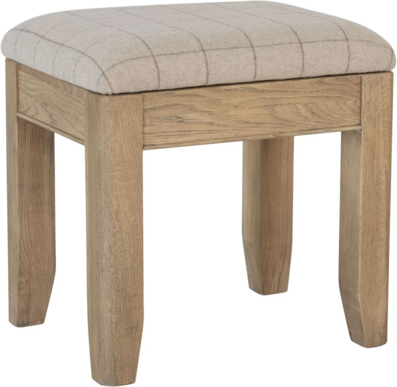 Hatton Oak Bedroom Stool