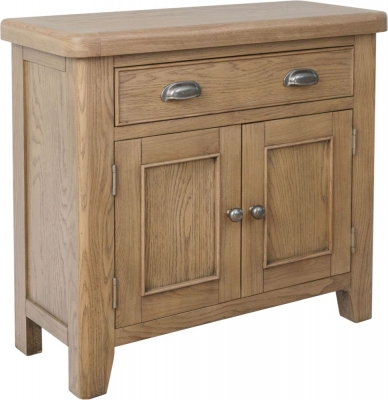 Hatton Oak 2 Door 1 Drawer Sideboard