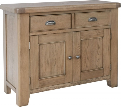 Hatton Oak 2 Door 2 Drawer Sideboard