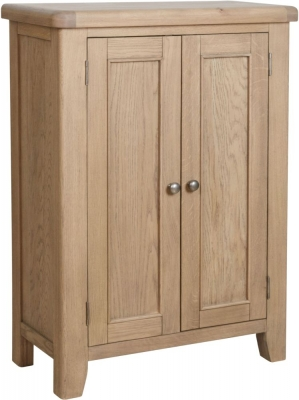 Hatton Oak Shoe Cupboard