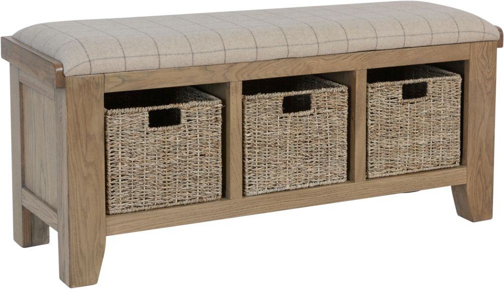 Hatton Oak Hall Bench