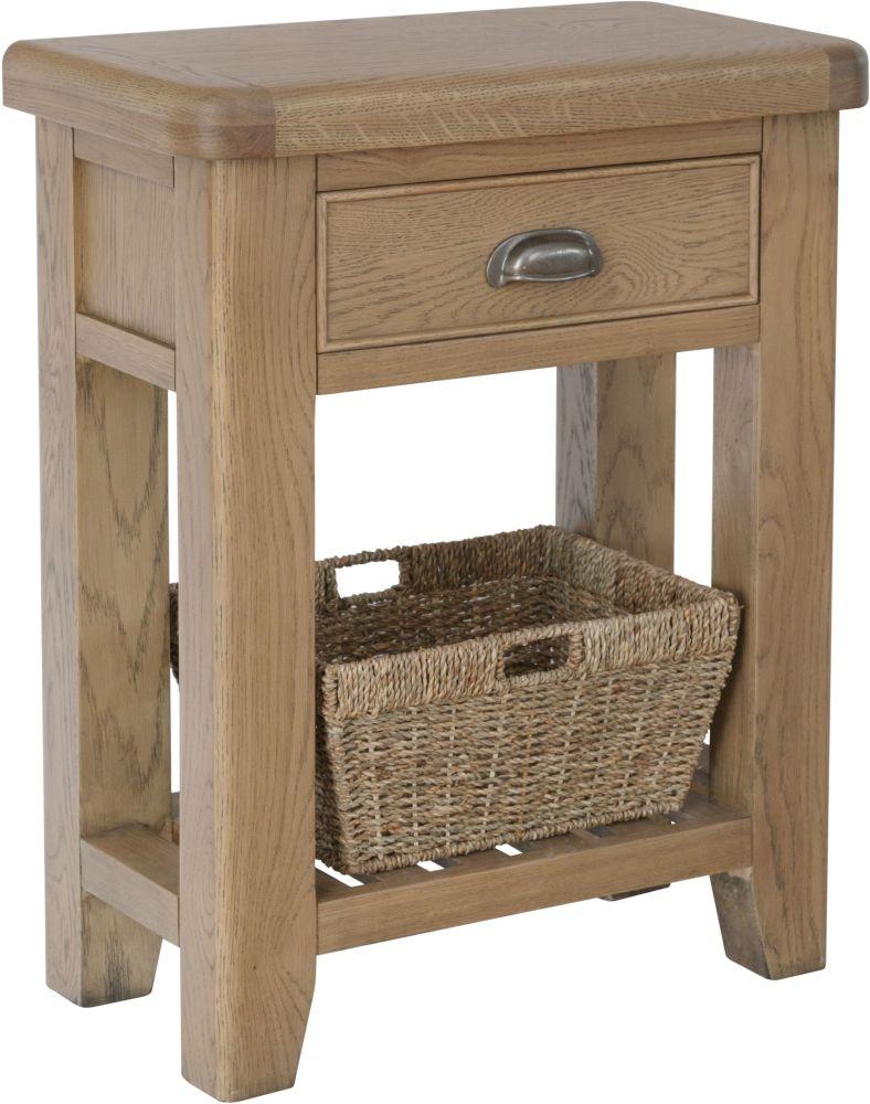 Hatton Oak Telephone Table