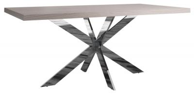 Laguna Grey Oak 180cm Dining Table