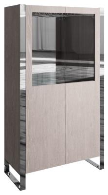 Laguna Grey Oak Drinks Cabinet