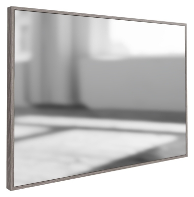 Laguna Grey Oak Rectangular Wall Mirror