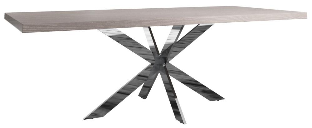 Laguna Grey Oak 220cm Dining Table