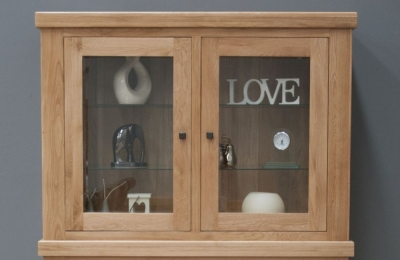 Bordi Oak Glazed Top Hutch