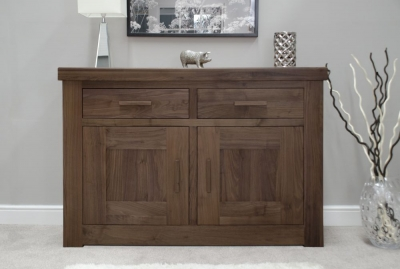 Fudge Solid Walnut 2 Door Sideboard