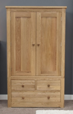 Torrent Oak Gents Wardrobe