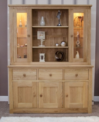 Torrent Oak Large Dresser