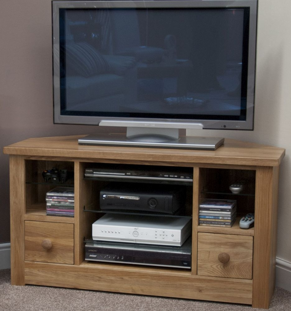 Torrent Oak Corner TV Unit