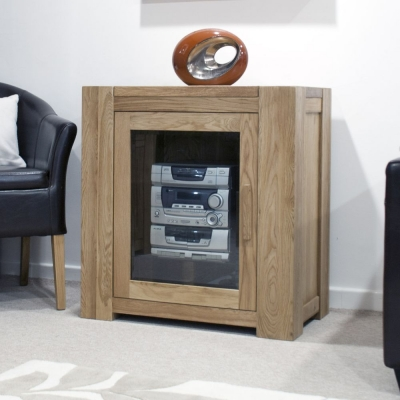 Trench Oak Hifi Entertainment Cabinet