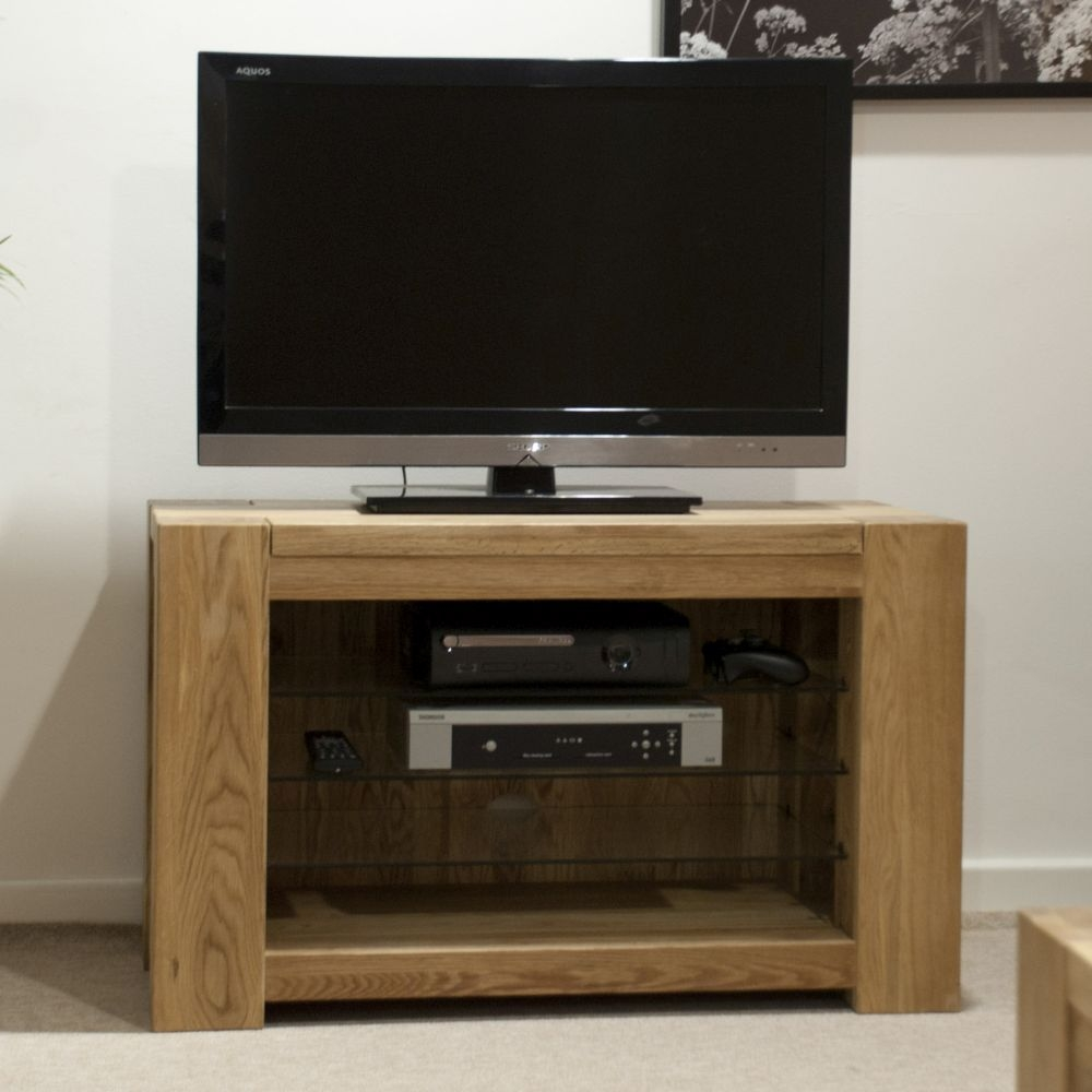 Trench Oak TV Unit