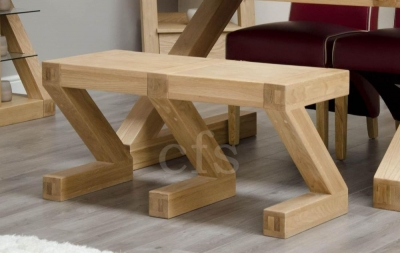 Zed Oak Small Bench