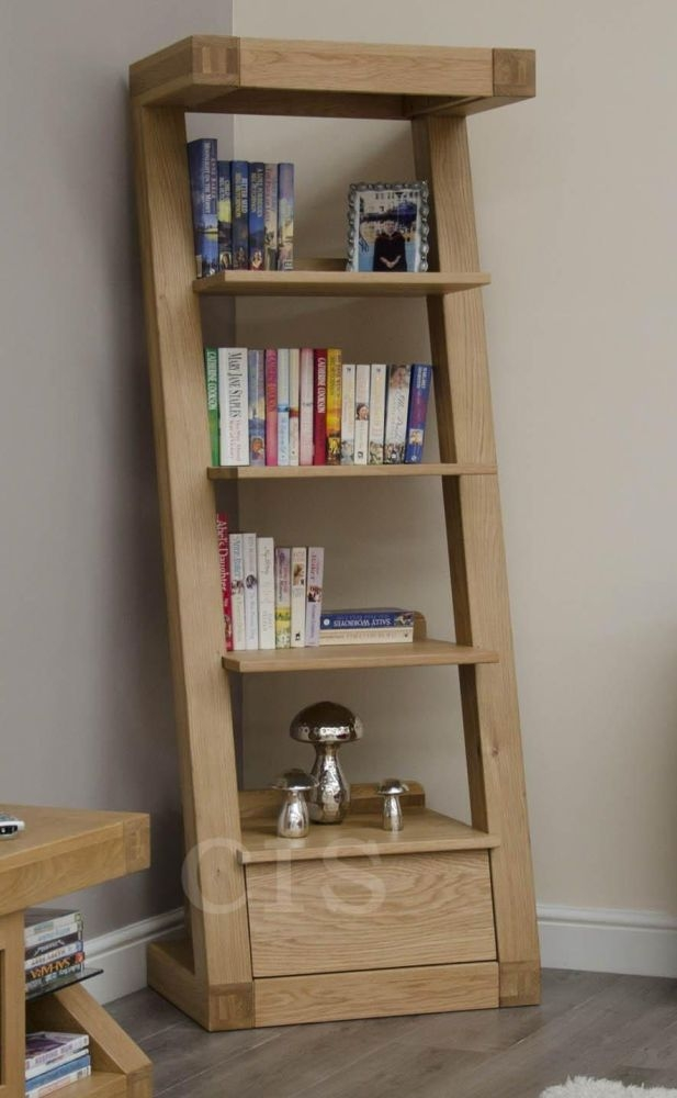 Zed Oak Bookcase