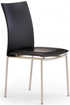 Skovby SM58 Steel Brushed Dining Chair