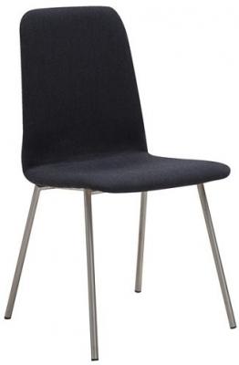 Skovby SM93 Steel Brushed Dining Chair