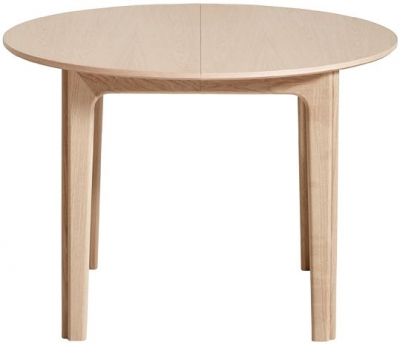 Skovby SM111 4 to 6 Seater Round Extending Dining Table