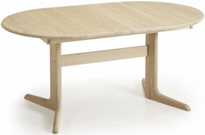 Skovby SM17 Ellipse 6 to 12 Seater Extending Dining Table