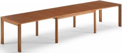Skovby SM23 6 to 14 Seater Veneer Extending Dining Table