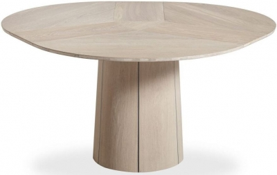 Skovby SM33 6 to 9 Seater Round Extending Dining Table