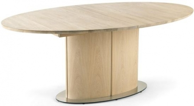 Skovby SM73 6 to 10 Seater Oak Veneer Lacquered Extending Dining Table