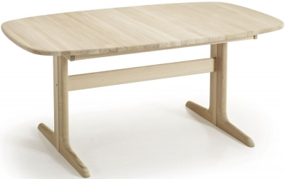 Skovby SM74 Ellipse 6 to 12 Seater Extending Dining Table