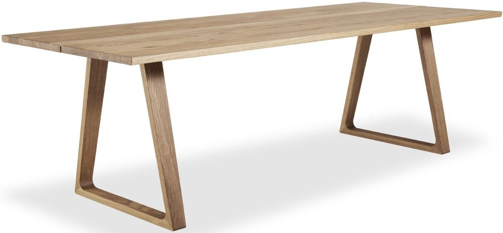 Skovby SM106 Solid Oak Oil-Finish Plank Dining Table - 8 to 14 Seater