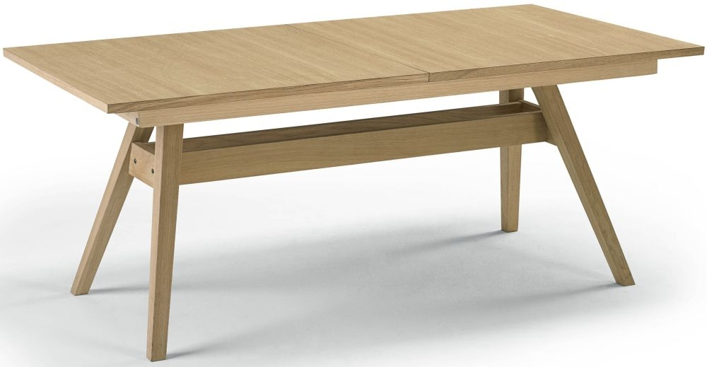 Skovby SM11 Dining Table - Oak Veneer Oil-Finish - 6 to 12 Seater