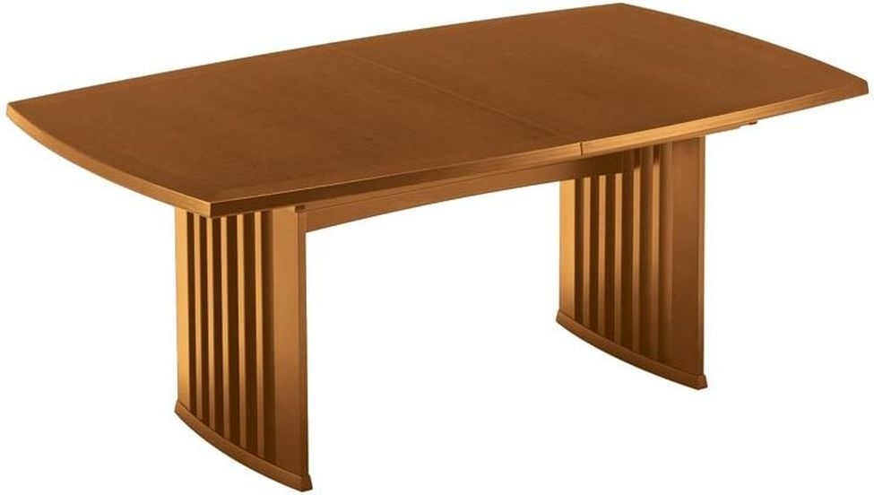 Skovby SM19 6 to 12 Seater Cherry Veneer Lacquered Extending Dining Table