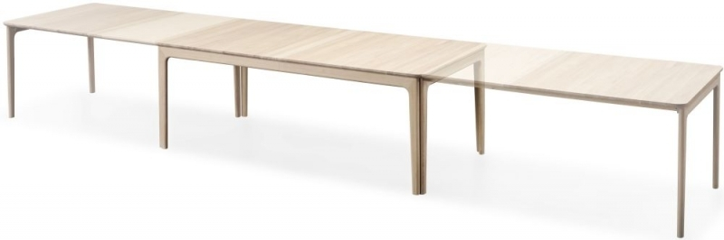 Skovby SM27 8 to 20 Seater Solid Wood Extending Dining Table