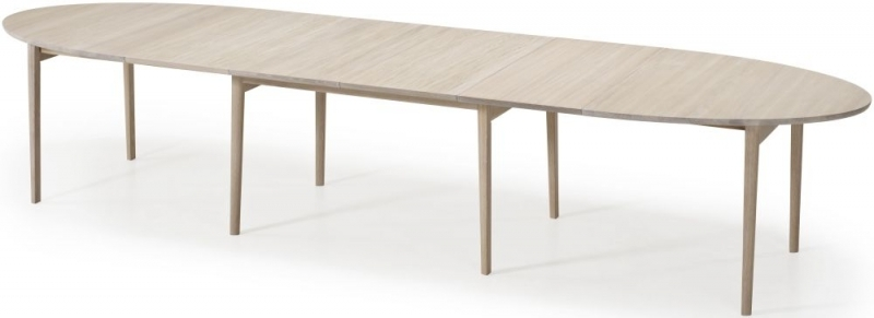 Skovby SM78 Ellipse Dining Table - 6 to 16 Seater
