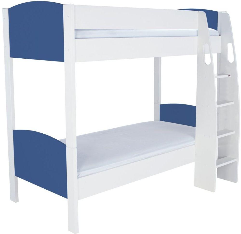 Buy stompa detachable blue round bunk bed online cfs uk for Detachable bunk beds