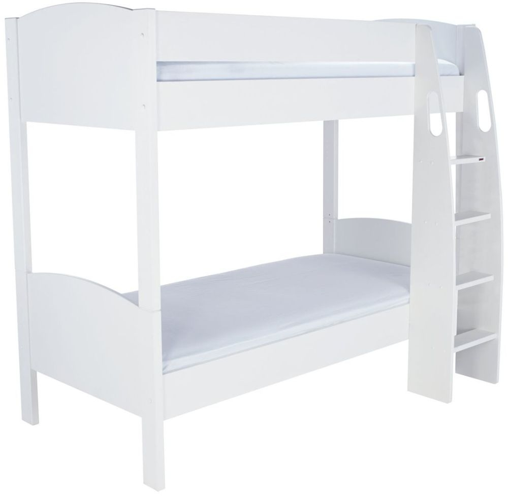 Buy stompa detachable white round bunk bed online cfs uk for Detachable bunk beds